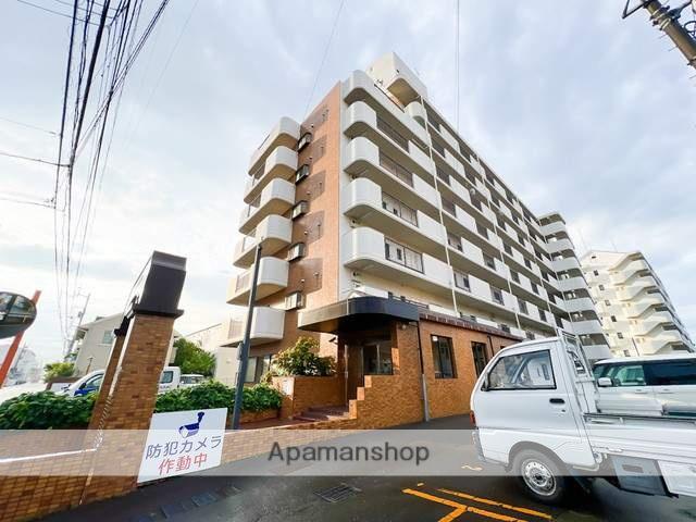 愛媛県松山市、衣山駅徒歩13分の築27年 8階建の賃貸マンション