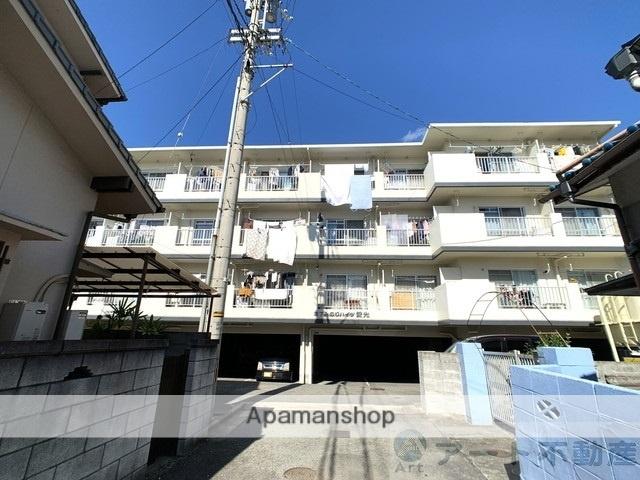 愛媛県松山市、古町駅徒歩7分の築30年 4階建の賃貸マンション