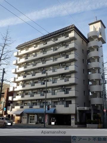 愛媛県松山市、古町駅徒歩3分の築26年 8階建の賃貸マンション