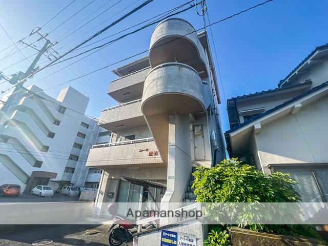 愛媛県松山市、古町駅徒歩8分の築24年 4階建の賃貸マンション