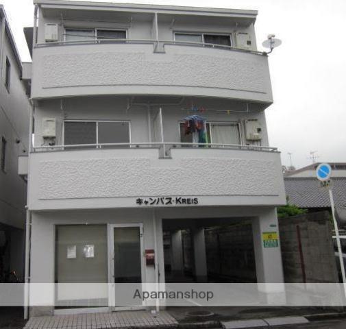 愛媛県松山市、萱町6丁目駅徒歩8分の築27年 3階建の賃貸マンション