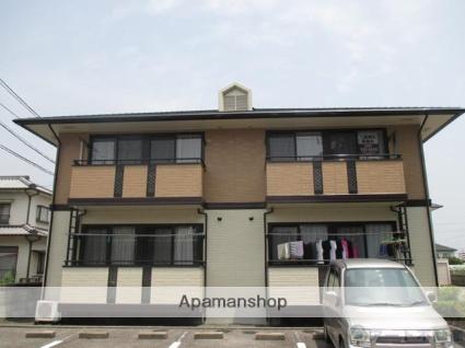 愛媛県松山市、山西駅徒歩16分の築18年 2階建の賃貸アパート