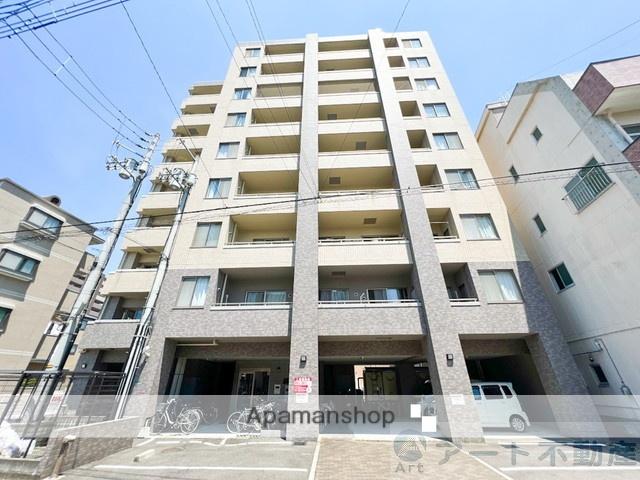 愛媛県松山市、平和通一丁目駅徒歩6分の築12年 9階建の賃貸マンション