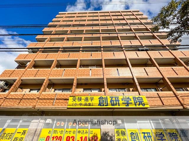 愛媛県松山市、松山駅徒歩25分の築9年 10階建の賃貸マンション