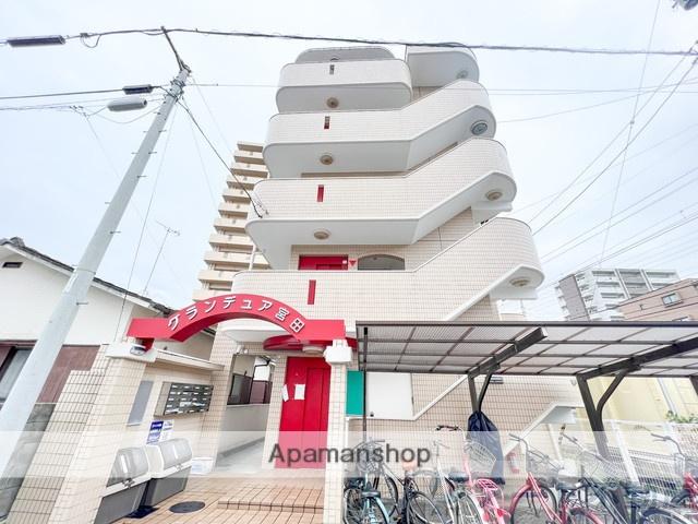 愛媛県松山市、大手町駅徒歩10分の築25年 5階建の賃貸マンション