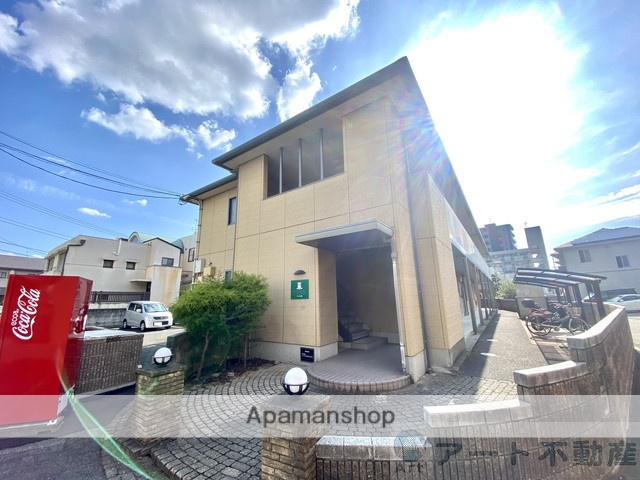 愛媛県松山市、勝山町駅徒歩11分の築17年 2階建の賃貸アパート