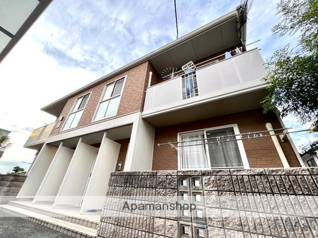愛媛県伊予郡松前町、松前駅徒歩4分の築8年 2階建の賃貸アパート
