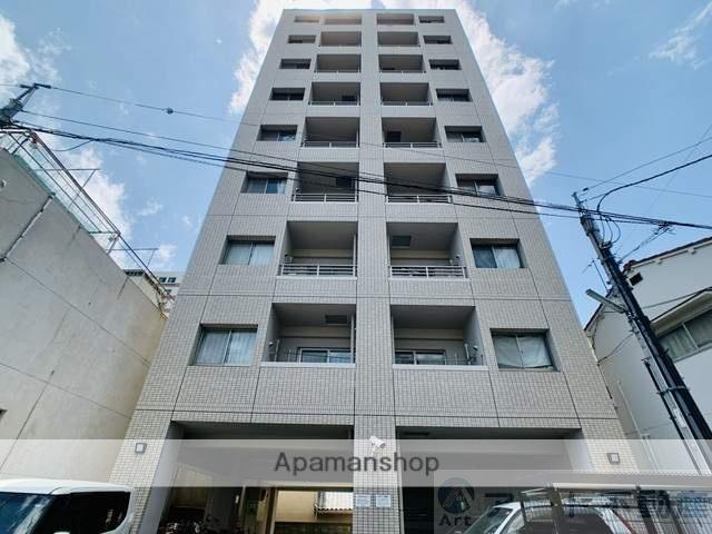 愛媛県松山市、警察署前駅徒歩3分の築10年 9階建の賃貸マンション