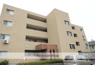 愛媛県松山市、松山駅徒歩14分の築9年 4階建の賃貸アパート