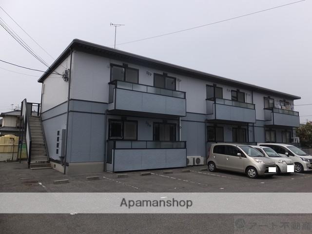 愛媛県伊予郡松前町、古泉駅徒歩10分の築25年 2階建の賃貸アパート