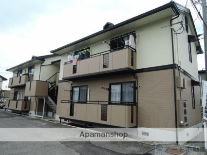 愛媛県伊予市、鳥ノ木駅徒歩4分の築22年 2階建の賃貸アパート