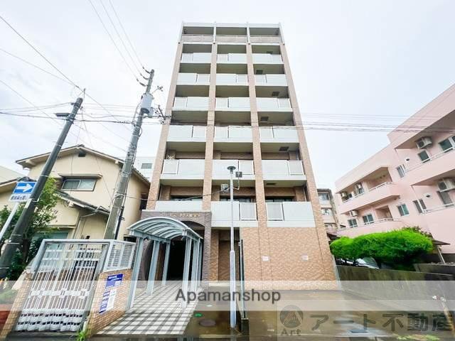 愛媛県松山市、大手町駅徒歩6分の築15年 8階建の賃貸マンション