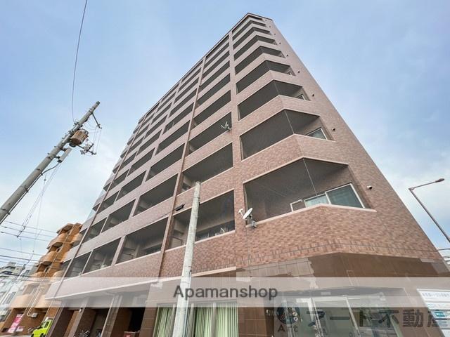 愛媛県松山市、本町6丁目駅徒歩6分の築9年 10階建の賃貸マンション