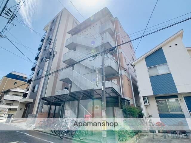 愛媛県松山市、平和通1丁目駅徒歩6分の築28年 5階建の賃貸マンション