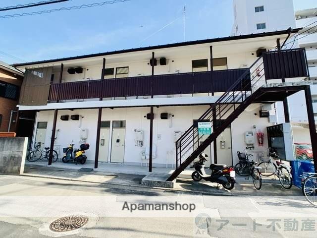 愛媛県松山市、萱町6丁目駅徒歩1分の築34年 2階建の賃貸マンション