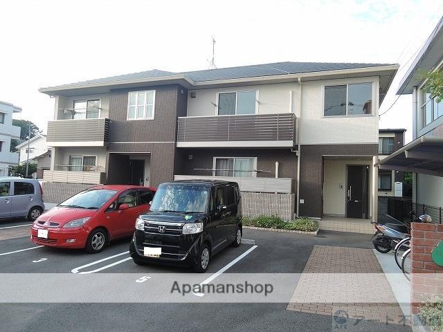 愛媛県松山市、松山駅徒歩10分の築4年 2階建の賃貸アパート