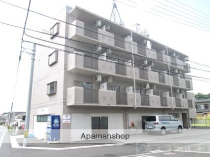 愛媛県松山市、勝山町駅徒歩20分の築19年 4階建の賃貸マンション