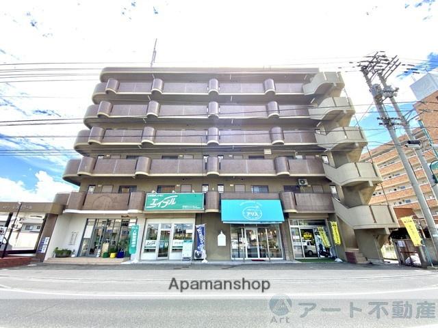 愛媛県伊予郡松前町、古泉駅徒歩18分の築27年 6階建の賃貸マンション