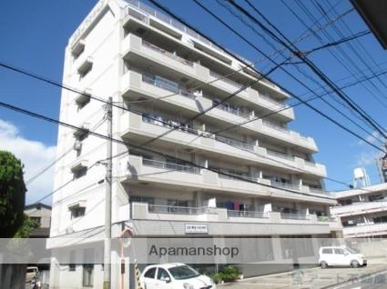 愛媛県松山市、古町駅徒歩6分の築27年 7階建の賃貸マンション