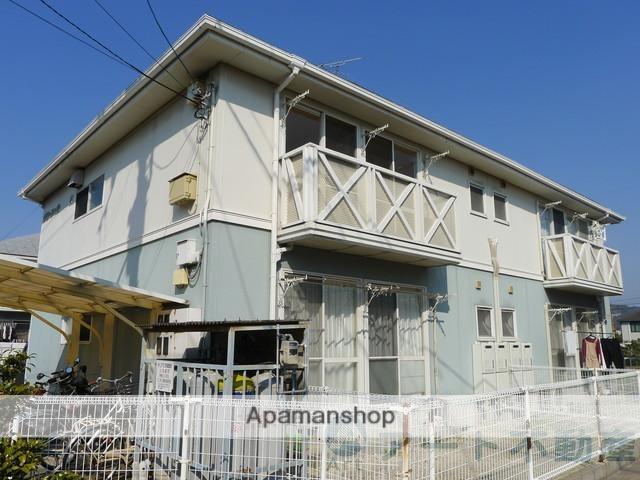 愛媛県松山市、衣山駅徒歩13分の築25年 2階建の賃貸アパート