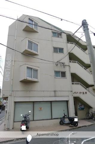 愛媛県松山市、平和通1丁目駅徒歩6分の築30年 4階建の賃貸マンション