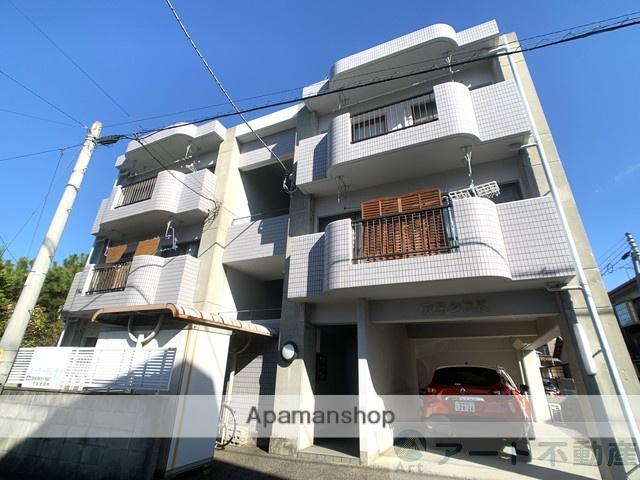 愛媛県松山市、松山駅徒歩10分の築20年 3階建の賃貸マンション
