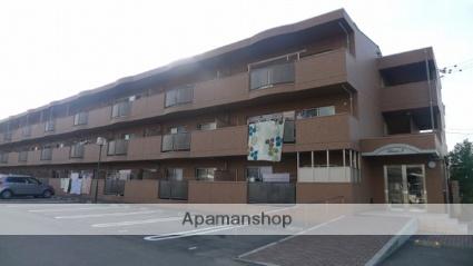 愛媛県伊予郡松前町、岡田駅徒歩17分の築8年 3階建の賃貸マンション