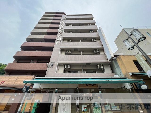 愛媛県松山市、県庁前駅徒歩7分の築20年 8階建の賃貸マンション