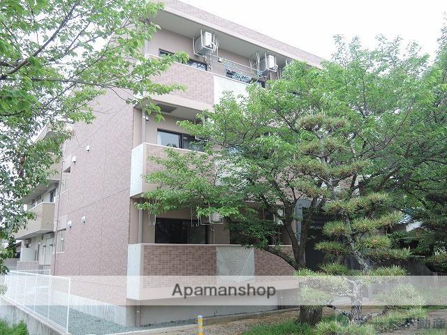 愛媛県松山市、平和通1丁目駅徒歩9分の築3年 3階建の賃貸マンション