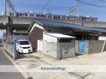 愛媛県松山市、萱町6丁目駅徒歩4分の築41年 1階建の賃貸一戸建て