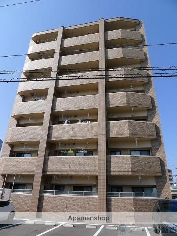 愛媛県松山市、松山市駅徒歩10分の築1年 7階建の賃貸マンション