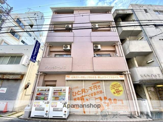 愛媛県松山市、土橋駅徒歩3分の築17年 4階建の賃貸マンション