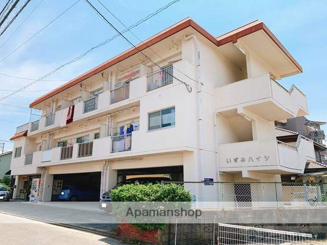 愛媛県松山市、南町駅徒歩12分の築31年 3階建の賃貸マンション