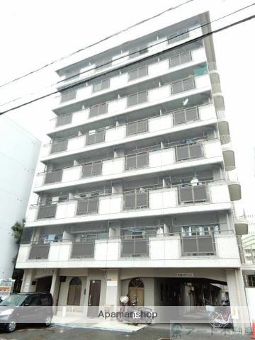 愛媛県松山市、清水町駅徒歩6分の築33年 9階建の賃貸マンション