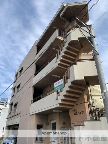 愛媛県松山市、土橋駅徒歩6分の築33年 4階建の賃貸マンション