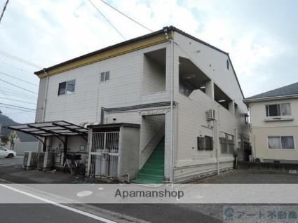 愛媛県松山市、山西駅徒歩19分の築30年 2階建の賃貸アパート