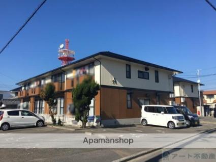 愛媛県伊予市、郡中駅徒歩4分の築22年 2階建の賃貸アパート