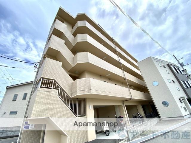 愛媛県松山市、松山駅徒歩11分の新築 5階建の賃貸マンション