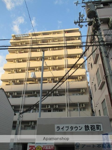 愛媛県松山市、赤十字病院前駅徒歩6分の築26年 10階建の賃貸マンション