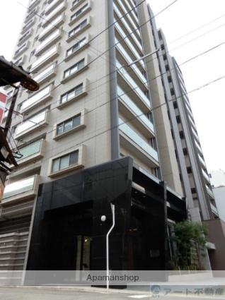 愛媛県松山市、市役所前駅徒歩8分の築3年 14階建の賃貸マンション