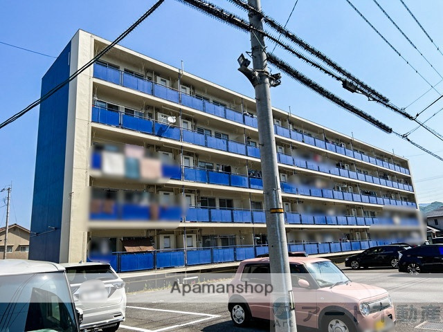 愛媛県松山市、堀江駅徒歩8分の築42年 5階建の賃貸マンション