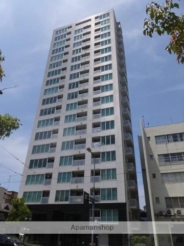 愛媛県松山市、西堀端駅徒歩7分の築6年 19階建の賃貸マンション
