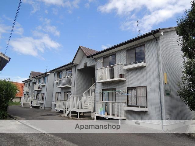愛媛県松山市、柳原駅徒歩10分の築21年 2階建の賃貸アパート