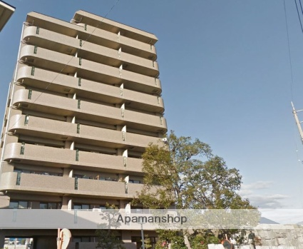 愛媛県松山市、市坪駅徒歩17分の築19年 10階建の賃貸マンション