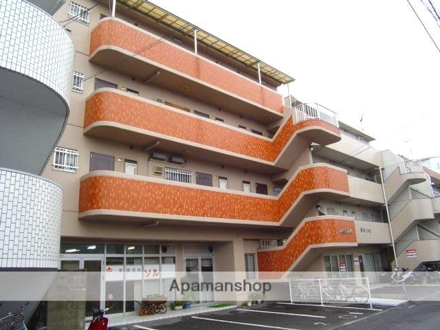愛媛県松山市、土橋駅徒歩19分の築28年 4階建の賃貸マンション