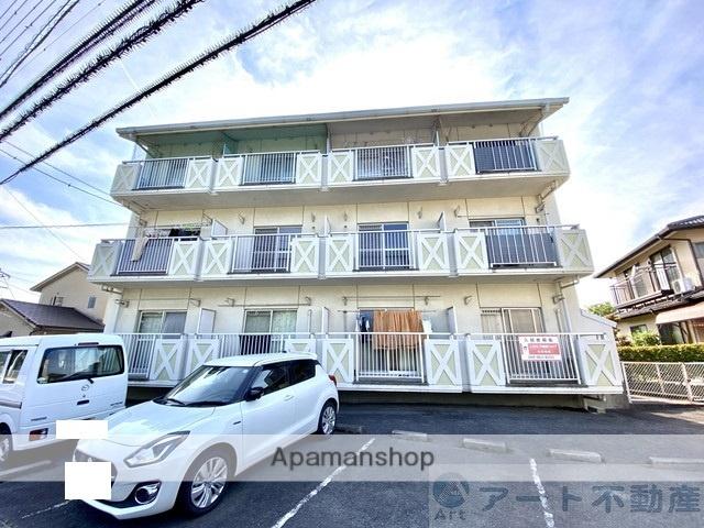 愛媛県東温市、見奈良駅徒歩16分の築29年 3階建の賃貸マンション