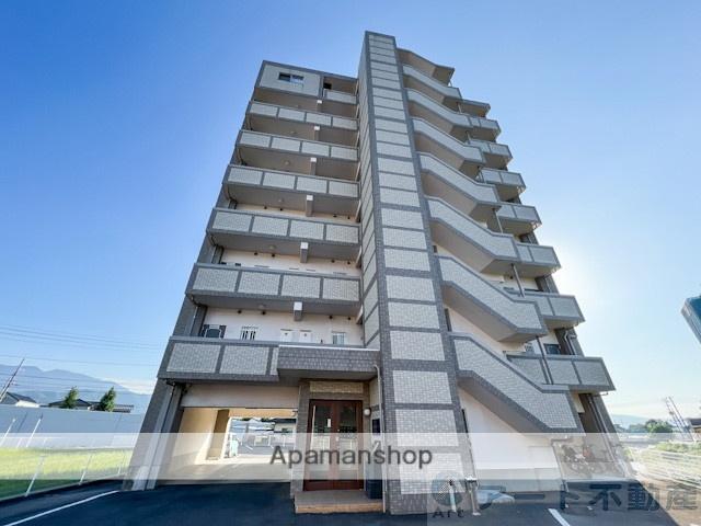 愛媛県東温市、梅本駅徒歩15分の築9年 8階建の賃貸マンション