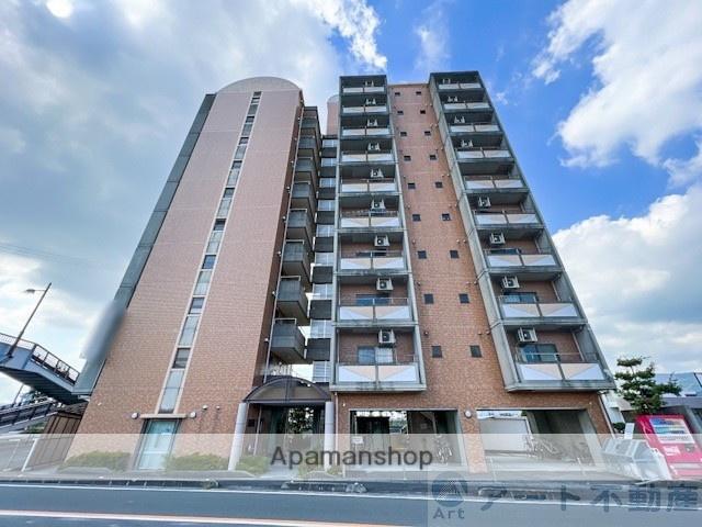 愛媛県東温市、横河原駅徒歩36分の築23年 10階建の賃貸マンション