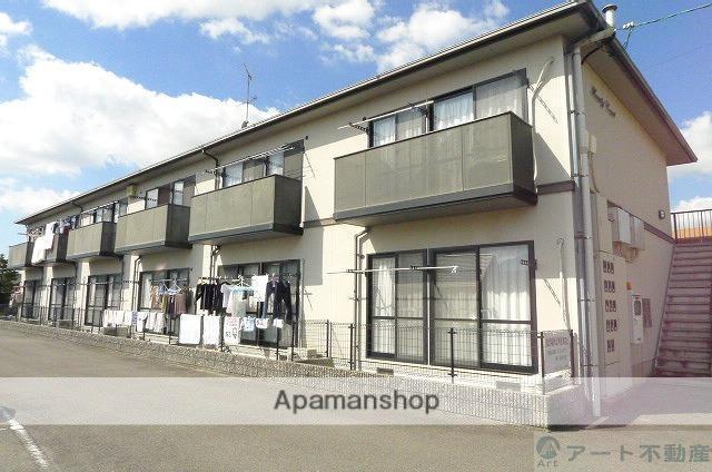 愛媛県東温市、田窪駅徒歩11分の築20年 2階建の賃貸アパート