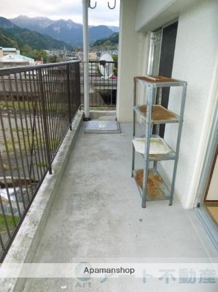 愛媛県東温市南方[3DK/56.7m2]のバルコニー